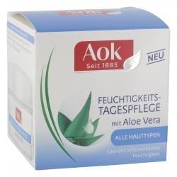 AOK Feuchtigkeits-Tagescreme mit Aloe Vera 3 x 50 ml