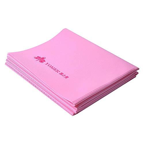 Cokeymove Faltbare Yogamatten - 2 mm ultradünne EVA-Gymnastikmatten, Fitness-Teppichkissen für Übungen - Yoga, Pilates, Sit-Ups, Stretching, Zuhause, Fitnessstudio für den täglichen Gebrauch