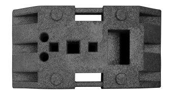 Sicherheitsbaken Fußplatte K1