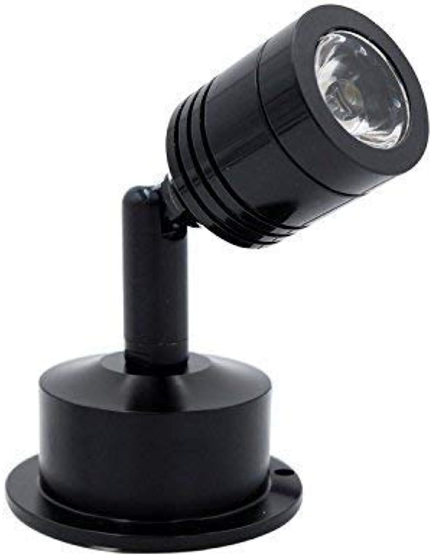ZXL Led Strahler Kabinett Schmuck Kabinett 3 Watt Kalt Wei Schwarz Oberflchenmontage Lampe Led Downlight Ac85-265V
