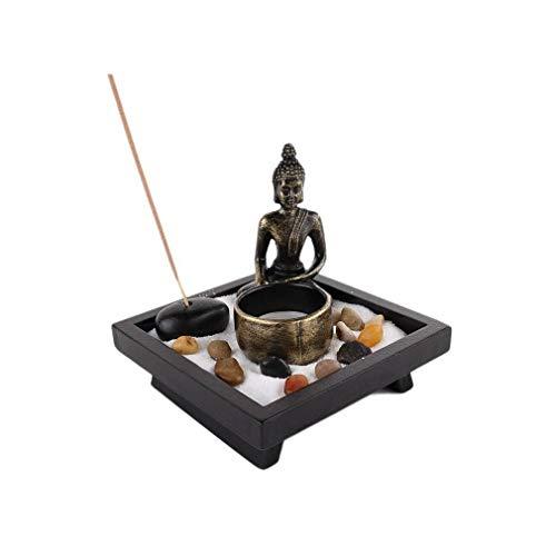 lachineuse Jardin Zen Japonais - Bouddha Méditation et Encens
