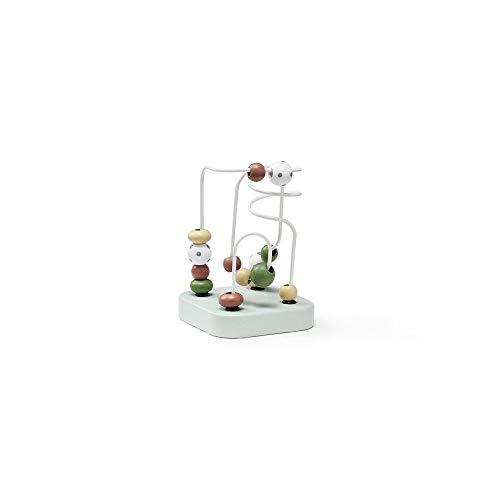 Kids Concept- Mini Laberinto Verde Edvin Abalorios, Multicolor (1000465)