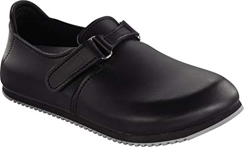 Birkenstock Men´s Linz Black Leather Sandals 44 EU (M11 US) R 583184