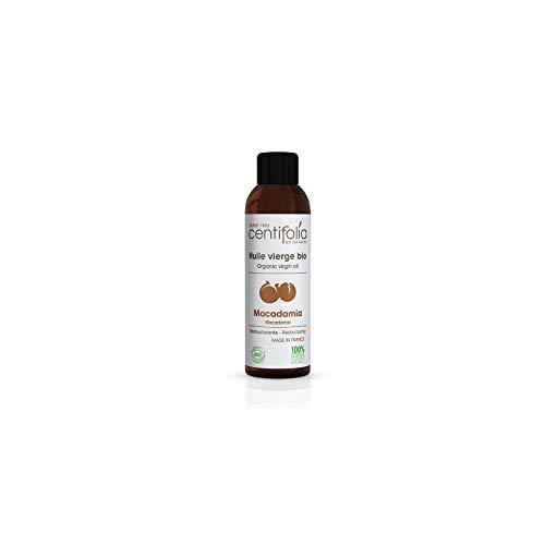 Huile De Macadamia Pression à Froid Vierge BIO 100% Pure Et Naturelle Huile Végétale Anti Vergetures Hydratant Et Nourrissant Pour Corps De 100ml