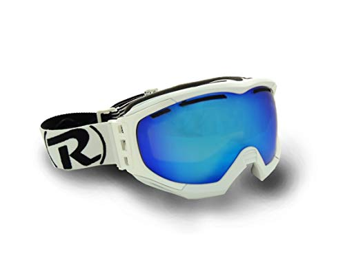 Raleri Riper Sphera Paradiso - Gafas de esquí para snowboard, fabricadas en Italia