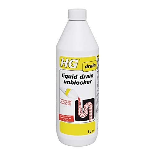 HG Abflussreiniger, befreit den Abfluss innerhalb von 30Minuten, 1 l