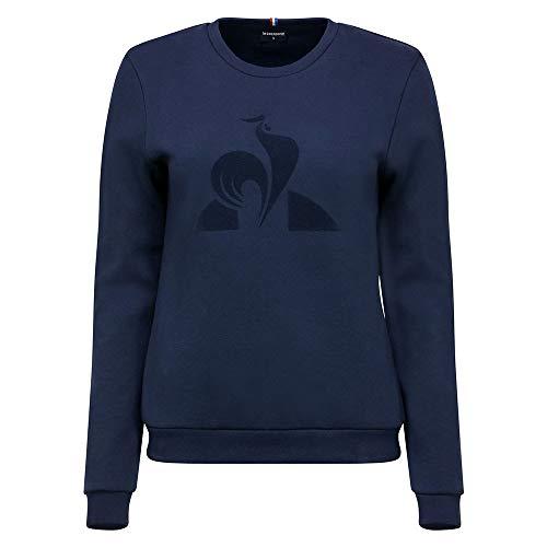 Le Coq Sportif Damen ESS Crew Sweat N°1 W Sweatshirt, Kleid, Blau, S