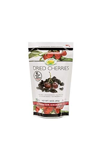 Sunrise Fresh Dried Fruit Company No Sugar Added Dried Dark Sweet Cherries, 16 oz. Bag