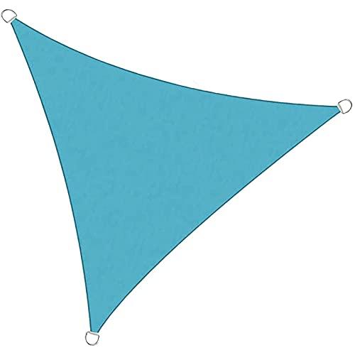 FFKL Sombrilla De Sombrilla, Protección Solar a Prueba De Sol Triángulo Sol De Sol De Sol De La Sombrilla, Uso Al Aire Libre,Blue-2 x 2 x 2m