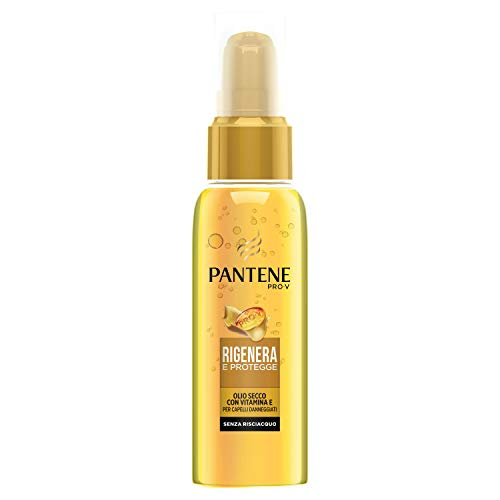 Pantene Pro-V Olio Secco, Rigenera & Protegge, con Vitamina E, 100 ml