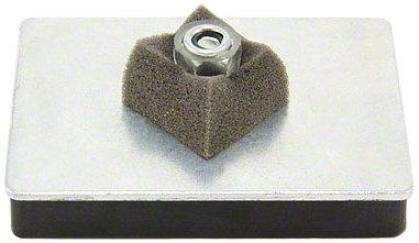 Magnet Expert 79 x 53 x 12 mm d'épaisseur x filetage M6 caoutchouc revêtu Mag Pad - 10 kg de traction (Pack de 1)