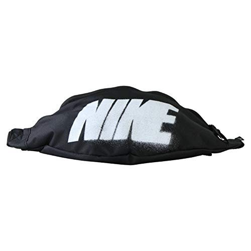 Nike Riñonera Heritage Hip Pack Rebel Gfx Negro Sin talla