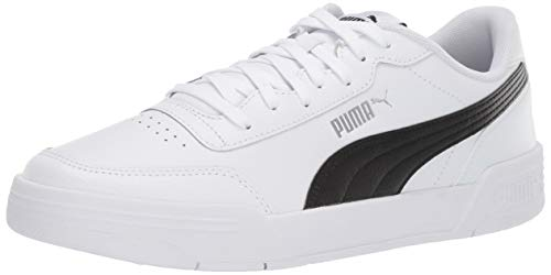 PUMA CARACAL Sneaker, White Black, 9 M US
