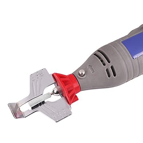 Lixiaonmkop Spitzer Kettensäge Zahnschleifwerkzeuge Elektrische Mühle Zubehör zum Schärfen im Freien Gartenwerkzeug (Color : Black)