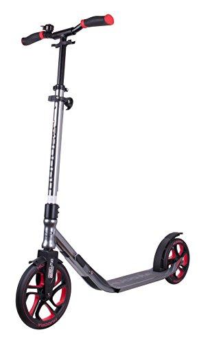 HUDORA Scooter Roller CLVR 250, Tret-Roller, Kickboard, Klapproller, anthrazit, 14835