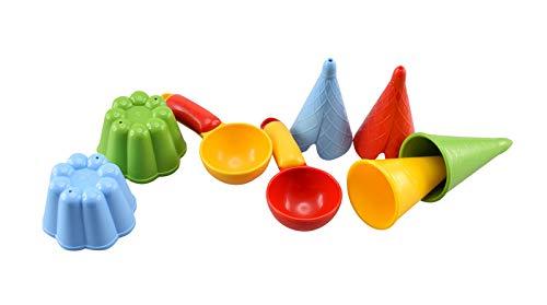GOWI 538-45 Sandform Eiscreme - Set 8 im Netz
