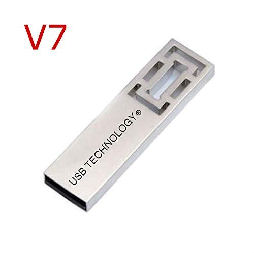 Clé USB 2048 GB (2 TB) USB 3.1 - V7 - CAPACITÉ RÈELLE - Métal - Ultra Rapide - Excellente QUALITÉ