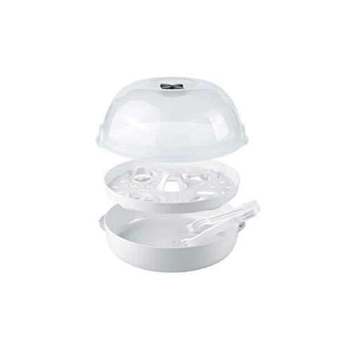 NUK Micro Express Plus Mikrowellen Sterilisator für babyflaschen, 4+ Babyflaschen & Zubehör, schnell, effektiv & gründlich