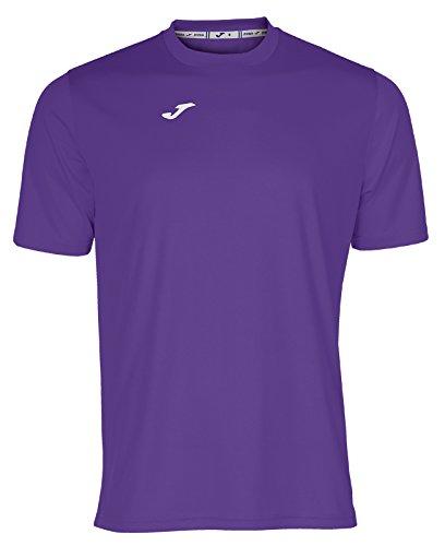 Joma 100052.550 - Camiseta de equipación de Manga Corta para Hombre, Color Violeta, Talla L