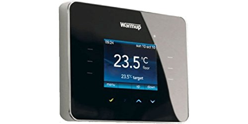 Warmup 3ie Thermostat, Schwarz