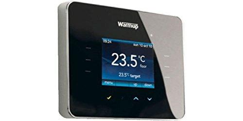 3iE-Thermostat von Warmup, programmierbar, Schwarz