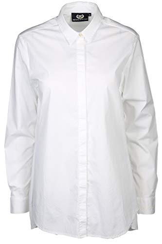 L'Argentina Damen Bluse Größe 36 EU Weiß (weiß)