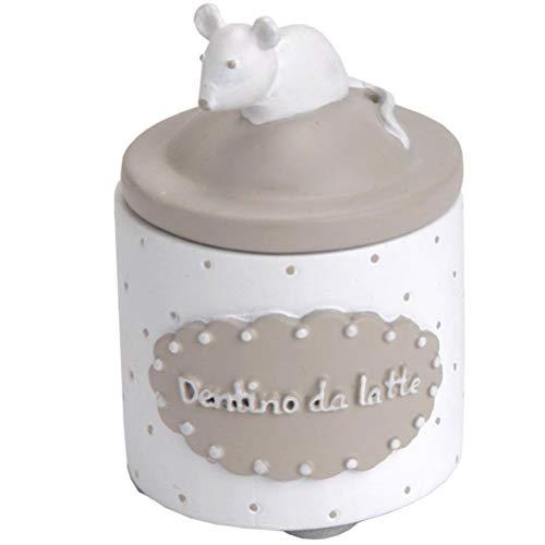 Petite boite à dents de lait blanche - Dentino da latte