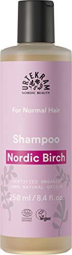 Urtekram Nordic berk shampoo Bio, normaal haar, 250 ml
