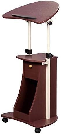Scranton Ranking TOP12 Co Max 71% OFF Deluxe Height Adjustable Cart in Chocolate Laptop