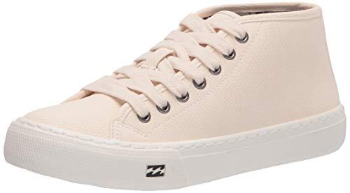 Billabong Women's Cruiser Slip-On Canvas Shoe Sneaker, Cream, 8
