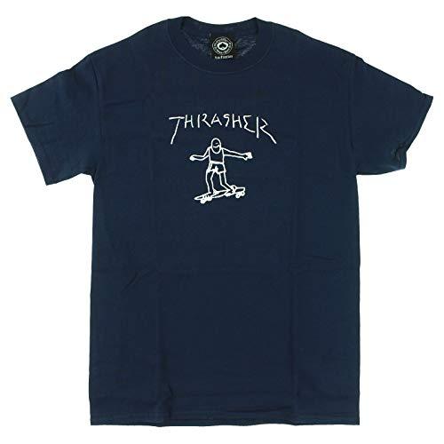 Thrasher Gonzales T-shirt à manches courtes Bleu marine Taille M