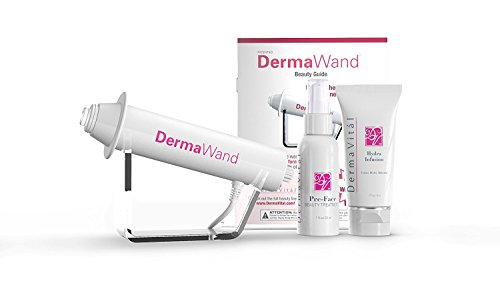 Système anti-âge haut de gamme Dermawand (prise britannique)–Avec 2crèmes...