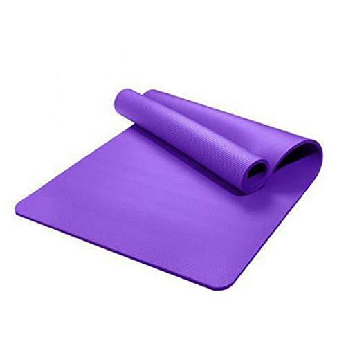 Zhenwo - Tappetino da yoga con spessore 30 mm, tappetino da yoga, tappetino da fitness all'ingrosso, 183 x 61 x 3 cm, colore: viola