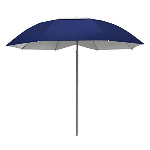Macro Paraguas de Pesca, rotación de 360 °, Antideslizante, Parasol Plegable, Paraguas de Doble Capa de Protector Solar, Protector Solar y Transpirable, a Prueba de Viento Reforzado