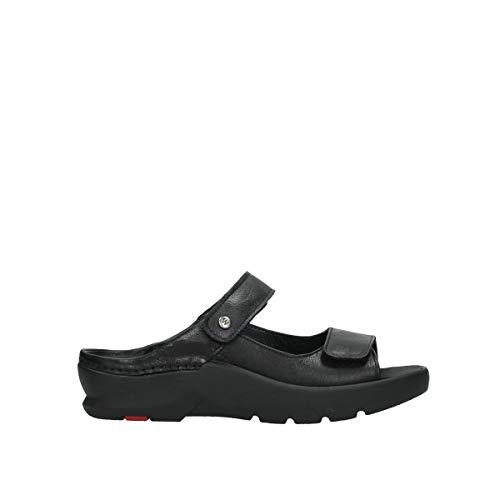 Wolky Comfort Zaandam - 35000 schwarz Leder - 42