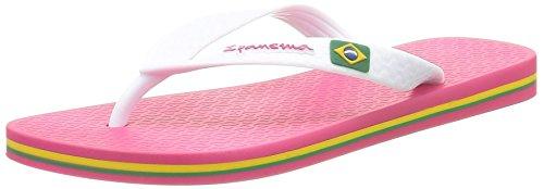 Ipanema Classica Brasil II Fem, Chanclas Mujer, Rosa (Pink/White 24044), 41/42 EU