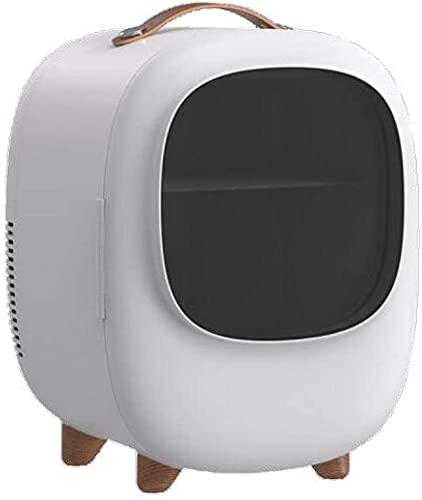 Auoeer Mini Refrigerador Portátil, Tranquilo Refrigerante Compact WORMER SKINGER MINIBAR MINIBAR Maquillaje Refrigeradores Bebidas Frigorífico 12V 220V-para Coches Casas Oficinas Dormillos, 8L