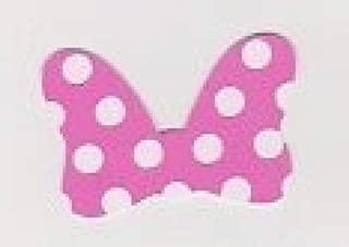 Die Cuts - Cartoon Minnie Bows Pink - 20piece