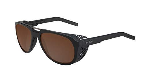 bollé Unisex– Erwachsene Cobalt Sonnenbrillen Medium, Black Matte