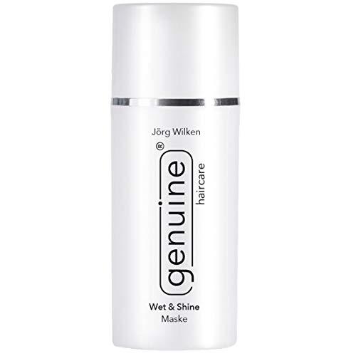 Wet & Shine Masker, voor beschadigd, zeer droog haar/haarpunten, verzorgingsmasker, bevordert elasticiteit, glans, genuine haircare