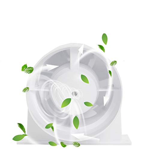 Ventilador de escape Ventilador de ventilación doméstico Ventilador De Conducto Redondo 4 Pulgadas 100 110 Mm Cocina Silenciosa Especial Pequeño Hogar Forma Completa LITING