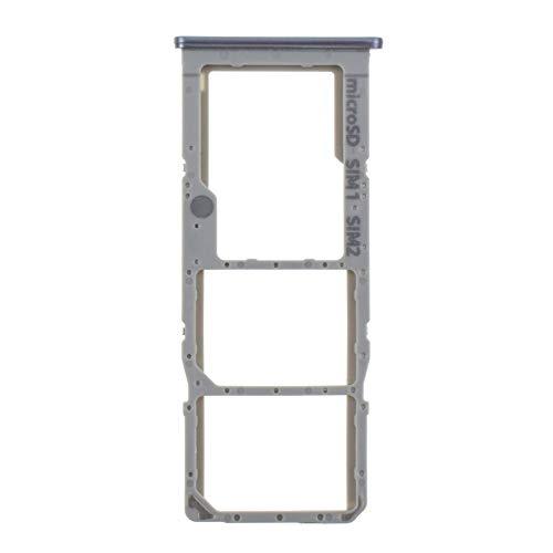Ranura doble para tarjeta SIM y bandeja para tarjeta microSD de repuesto para Samsung Galaxy A50s Prisma Silver SM-A507F SM-A507FN SM-A5070