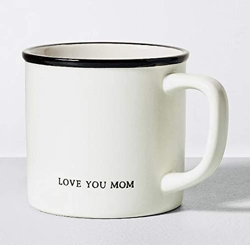 Hearth And Hand With Magnolia By Joanna Gaines Stoneware Farmhouse Mug LOVE YOU MOM