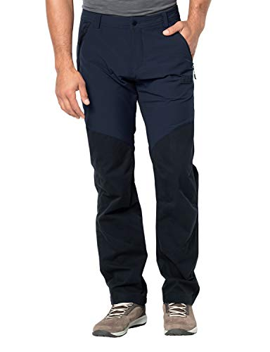 Jack Wolfskin Herren Drake Flex Pants Men Hose, Night Blue, 94