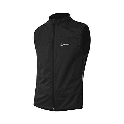 LÖFFLER M Bike Vest WaterproofM Pocket Schwarz, Herren Weste, Größe 50 - Farbe Black