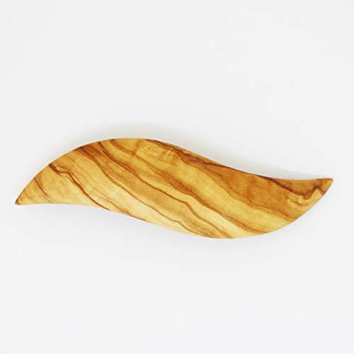 mitienda mit Liebe gemacht Haarspange aus Holz, Haarschmuck Sonja, Schmuck, Haarschmuck,Olivenholz, Haarschmuck, Haar Accessoires, Haarspange Aus Holz