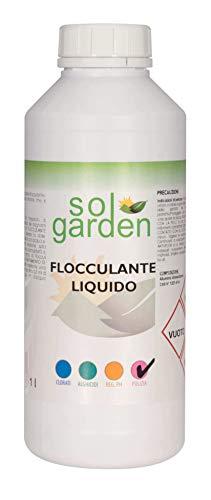 LordsWorld – 1 liter vlokkmiddel voor het verlichten van water en zwembaden – voor de behandeling en het onderhoud van het water in het zwembad – anti-troebelheid.