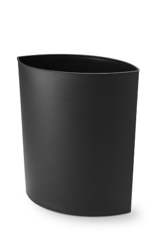 Authentics 1090799 Papierkorb LIP / 15 L / B 36 x H 43 x T 20 cm / schwarz