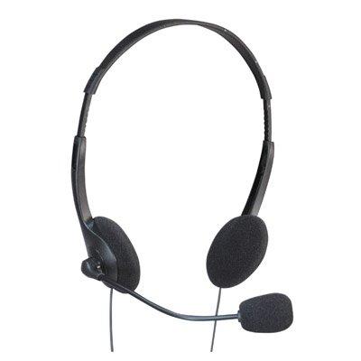 Soundlab–Cuffie Stereo con microfono per PC (cavo 2,50m)