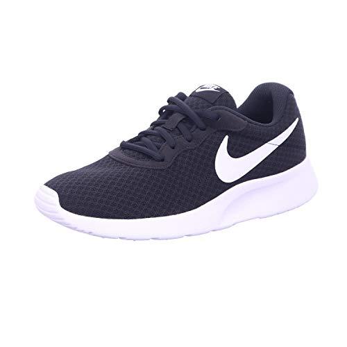 NIKE Tanjun, Sneaker Donna, Nero (Black/White 011), 38 EU